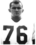 David Debord, #76, 1970 MU Football team