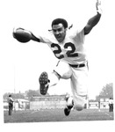 Art Harris, #22, 1970 MU Football team