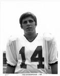 Ted Shoebridge, #14, Quarterback,1970 MU Football team