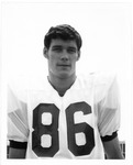 John Young, #86,1970 MU Football team