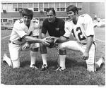 (l to r): Ted Shoebridge, QB, Jim