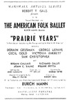 Marshall Artists Series Robert T. Gaus Presents The American Folk Ballet in
