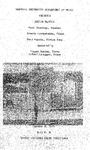 Marshall University Music Department Presents a Senior Recital, Paul Jennings, Bassoon, Brenda Crookshanks, Piano, Paul Harris, String Bass by Paul Jennings, Brenda Crookshanks, and Paul Harris