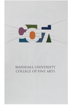 Marshall University Music Department Presents the College of Fine Arts 17th Annual Awards Convocation, April 20, 2012