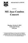 Marshall University Music Department Presents the MU Jazz Combos Concert
