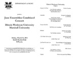 Marshall University Music Department Presents a Jazz Ensembles Combined Concert, Illinois Wesleyan University, Marshall University