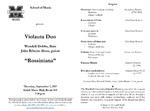 """Rossiniana"" by Wendell B. Dobbs DMA and Júlio Ribeiro Alves DMA"