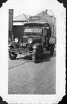 Railway Express Agency delivery truck, Huntington, W.Va., July 1936