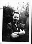 Sara Mae Myers, at Frank's camp, May 21, 1939