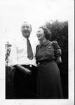 Frank and Maud, May 1, 1939