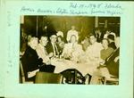 Myers family at Miami Beach Steak House, 1948