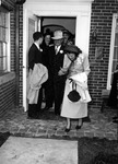 Wedding of Bob Myers and Lois, Apr. 13, 1949