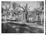 Myers vacation trailer, Ft. Lauderdale, Fla., Jan. 1950