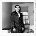 Con Jameson at Veteran's Hospital, Brecksville, Oh, June 21, 1955