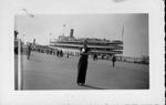 Sara Mae Myers, New York City harbor, Sept. 6, 1936