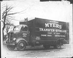 Myers Transfer truck, ca. 1930's