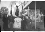 Huntington Elks Club No. 313 parade float, ca. 1950's