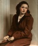 Fay Delores Jameson, age 15, Christmas, 1940
