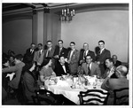 party for Bob Myers, Feb. 1955