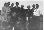 Myers family gathering, Huntington, W.Va., Nov. 28, 1945
