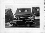 1937 Hudson in front of 1024 22nd Street, Huntington, W.Va., Sept. 1937