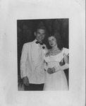 Bob Myers and Lois, spring Formal at WVU, 1948