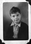 Bobbie Myers, age 8years, 3rd grade photo, winter of 1936-37