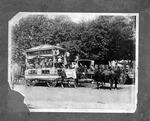 Calloway Lumber Co. parade wagon