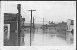 14th St W looking South, 1937 flood