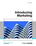 Introducing Marketing