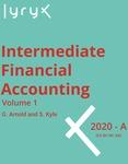Intermediate Financial Accounting Volume 1
