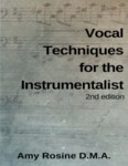 Vocal Techniques for the Instrumentalist - 2nd edition