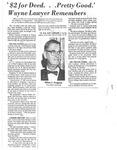 Oral History Interview: Milton J. Ferguson