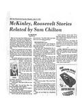 Oral History Interview: Samuel B. Chilton