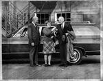 MU President Stewart Smith (right), ca. 1967-68