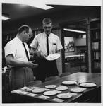 MU professor Walter Felty (left) and student Dave Pugh