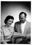 MU professor Walter Felty, and student Ann Turnbull, ca. 1960's