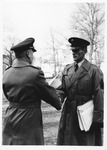 MU military science instructor Walter Figge (r), 1963-1965