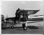 MU grad student & flight instructor, William Hall