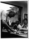 MU Art professor, Joseph Jablonski, ca. 1960's