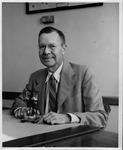 MU Geology Professor, Dr. Raymond Janssen, ca. 1963
