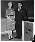 MU English professors Louise Kirby and A. Mervin Tyson