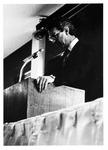 MU Journalism professor Daryl Leaming, ca. 1975