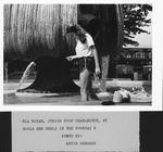 MU junior from Charleston, W.V., Mia Moran, cooling in MU Memorial Fountain