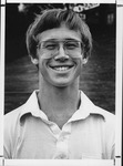 MU student and golfer, Mike Owens, 1981