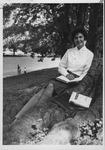 MU student and 1961 Miss Huntington, Joanne Odum