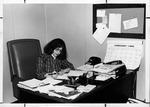 MU staff Andrea Pfeiffer, 1982