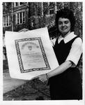 MU Spanish student, Linda Earlene Perry, 1966