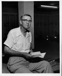 MU English professor, Joseph D. Pollitt, ca. 1960