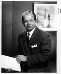 Lt. Col. John A. Powers, USAF, public affairs officer for NASA, 1962